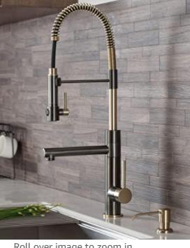 Kraus KPF 1603 Artec Pro 2 Function Commercial PreRinse Kitchen Faucet Retail 349 95