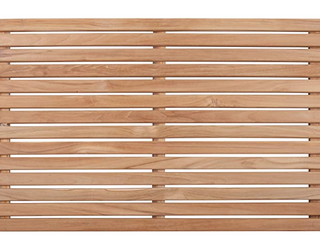 Nordic Style Natural Teak Shower Mat 31