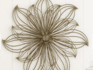 larson Carrington Flower Sculpture Wall Art