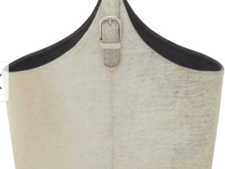 The Gray Barn Clear Creek Grey leather