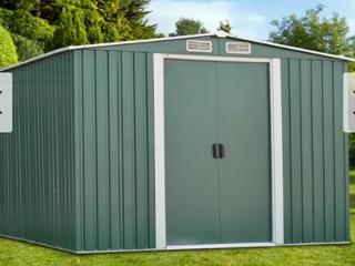Kinbor 8  x 6  Outdoor Garden Storage Shed Tool House Backyard lawn Building Garage  Retail 368 49
