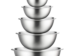 Finedine Stainless Steel Mixing Bowls  Set Of 6