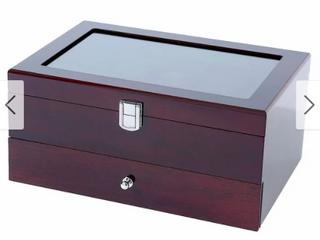 Wooden Watch Box 10 Multifunction