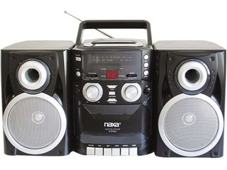 Portable CD Player with AM FM Stereo Radio Cassette Player Recorder