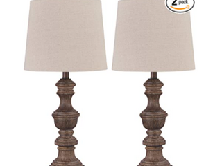 Magaly 28 Inch Poly Table lamps Set