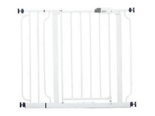 Regalo Easy Step Metal Walk Through  White  Model  1160 DS