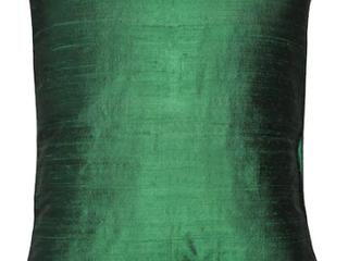 Forest green   Pillow Decor   Sankara Silk Throw Pillows 18 x 18
