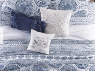 The Curated Nomad Fala Medallion 3 piece Cotton Comforter Set  Retail 189 99