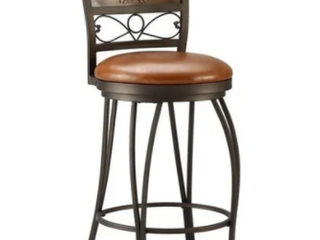 Powell Bailey Stamped Back Bar Stool  30 Seat Height  Retail 112 99