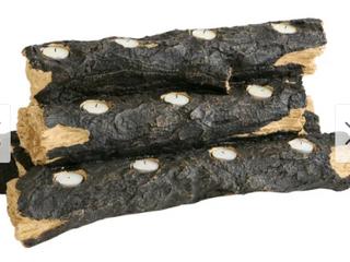 Copper Grove Julius Tealight Fireplace log