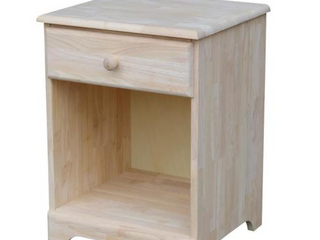 Unfinished Nightstand  Retail 207 99 BD 5001