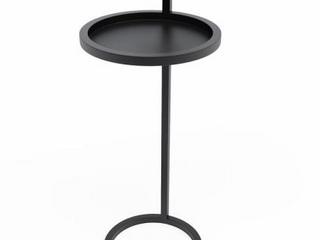 Jamesdar Katrine Camden Side Table in Matte Black  Retail 104 99