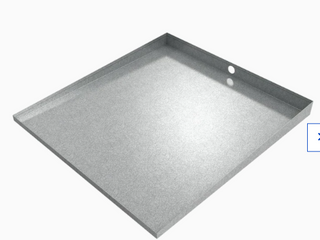 Killarney Galvanized Steel Washer Drip Pan 30 x 32