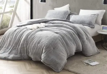 Coma Inducer Frosted Black Oversized Comforter  Retail 97 99