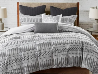 The Curated Nomad Natoma Cotton Jacquard 3 piece Comforter Set  Retail 115 99