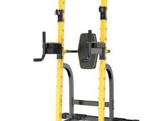 Ainfox Power Tower Multi Function Home Strength Training Tower   Yellow  Retail Value  331 99