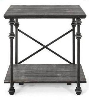 Morell Modern Industrial End Table by Christopher Knight Home