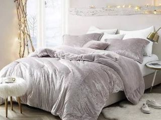 Silver Orchid Quirk Oversized Champagne Pink Comforter  Retail 122 99