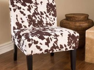 Saloon Contemporary Fabric Slipper Accent Chair  Set of 2  by Christopher Knight Home