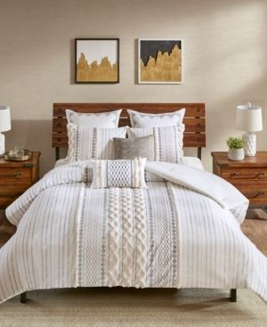 Ink Ivy Imani 3 Pc  Full Queen Cotton Comforter Mini Set Bedding