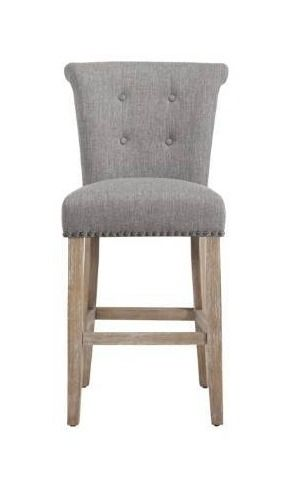 The Gray Barn Mustang Beige Fabric Counter Stool  Set of 2  Retail 347 49