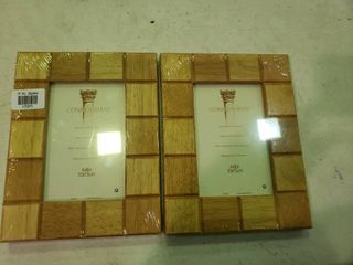 Pair of Wooden Picture Frames