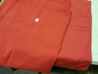 lot of 2 Red Table Cloths