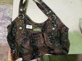 Relic Brown and Black Handbag