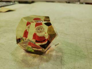 Santa Paperweight