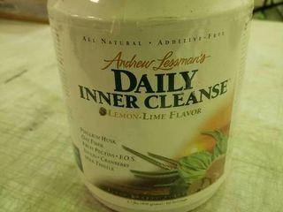 2 2lb Bottle of Andrew lessman s Daily Inner Cleanser