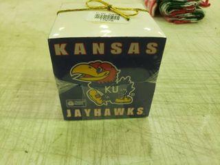 KU Jayhawks Note Cube