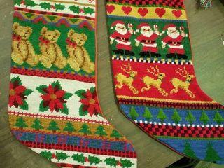 Pair of Christmas Stockings
