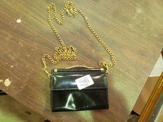 Small Black Wallet Purse