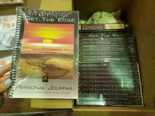 lot of Anthony Robbins Get The Edge Self Help Media