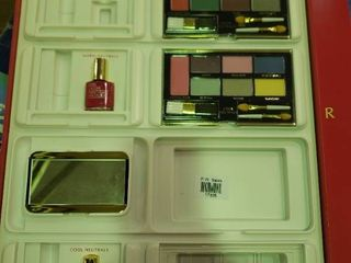 lot of Estee lauder Makeup  Nail Polish and Mirror