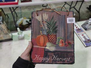 Happy Harvest Hanging Sign
