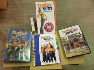 lot of Turbo Exercise Weight loss Supplies