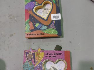 lot of 2 Colorful Picture Frames