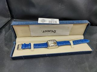 Stauer Automatic 3 Jewels Watch with Genuine leather Strap