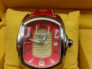 Invicta Men s Watch  Model NO  2384 with Genuine leather Strap