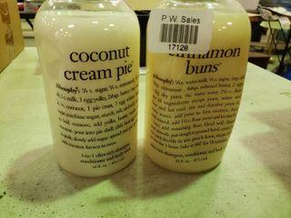 Coconut Cream Pie 3 in 1 Soap and Cinnamon Buns 3 in 1 Soap