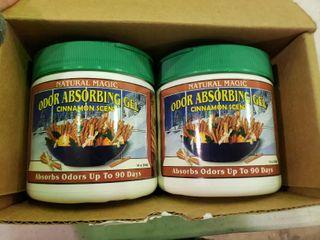 lot of 2 Natural Magic Odor Absorbing Gel