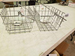 Pair of Metal Baskets