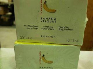 lot of 2 Banana Velours Nourishing Body Treatments