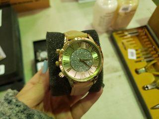 Kessaris Glitter Dial Women s Watch