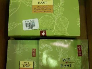 lot of Wei East Self Care Products