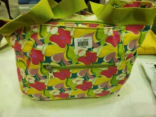 Top Track Floral Tote
