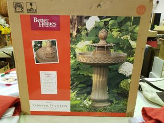 Better Homes and Gardens Pedestal Fountain