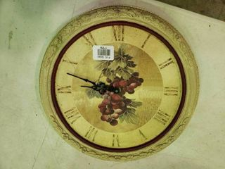Grape Wall Clock