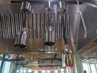Hatco Heating lights On Track